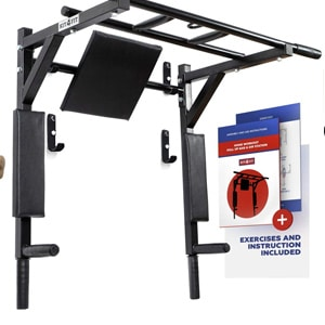 Kit4fit Wall Mounted Pull Up Bar