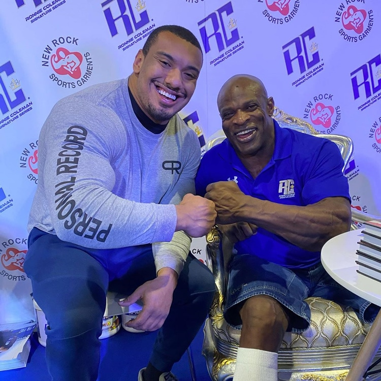 Larry Wheels With Ronnie Coleman
