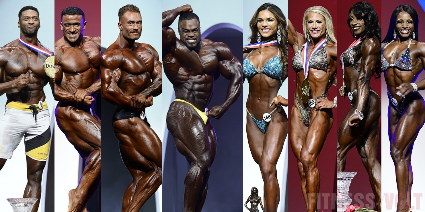 List Of Competitors Qualified For 2020 Mr Olympia In Every Division Fitness Volt