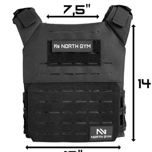 Northgym Adjustable Weighted Vest