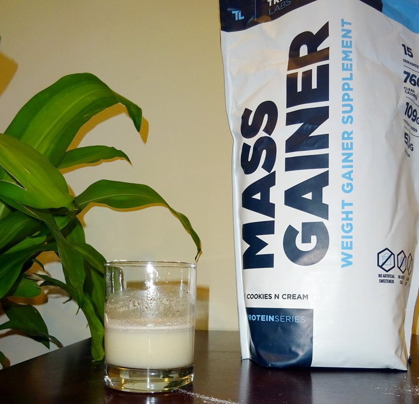 Proteinseries Mass Gainer Taste
