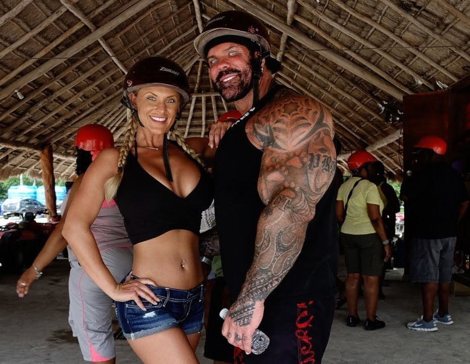 Rich Piana With Chanel