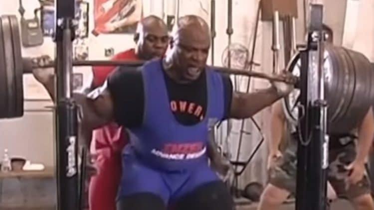 Ronnie coleman leg workout
