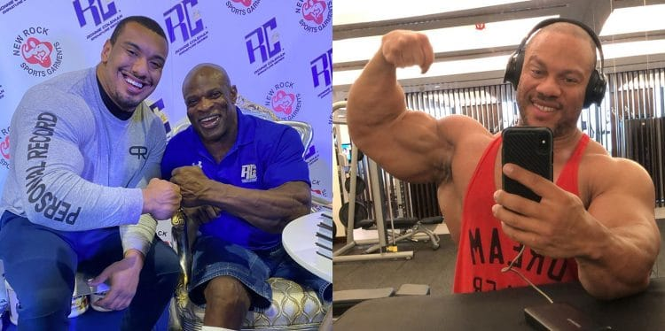 Ronnie Coleman And Phil Heath