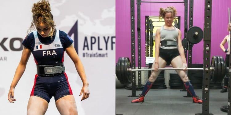 Powerlifter Samantha Eugenie