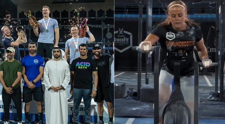 Sara Brent Crossfit Dubai