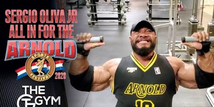 Sergio Oliva Jr Arnold Classic