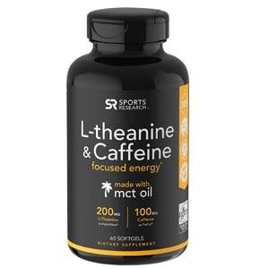 Sports Research L Theanine Caffeine