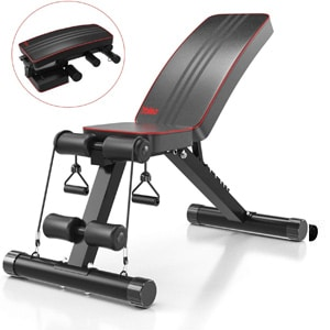 Yoleo Adjustable Weight Bench