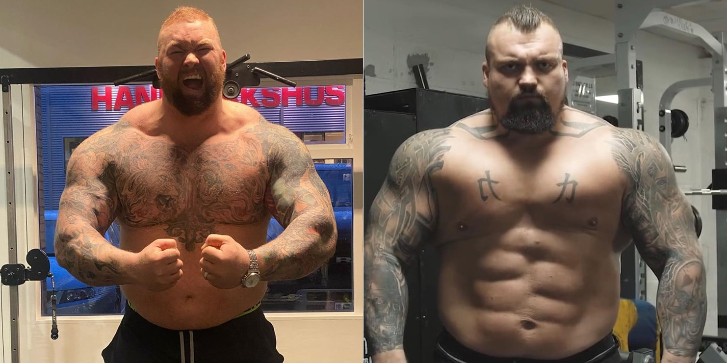 Eddie Hall Vs Hafthor Bjornsson Boxing Match Is Now A Real