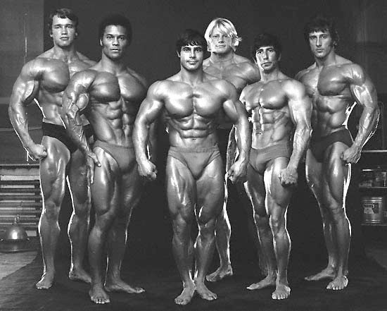 Golden Era Bodybuilders