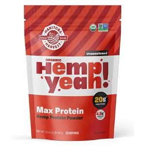 Manitoba Harvest Hemp Yeah Organic Max Protein Protein