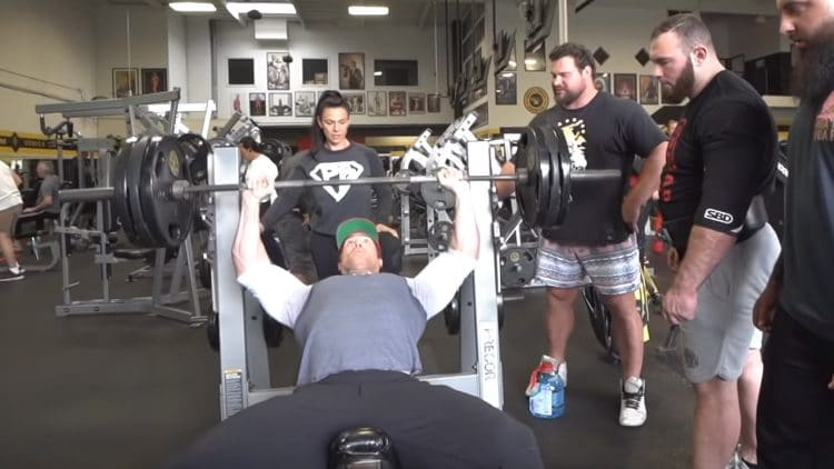 Mike O Hearn Training With Martins