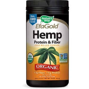 Nature's Way Efagold Hemp Protein