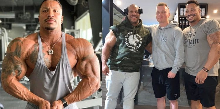 Patrick Moore Trains With Phil Heath