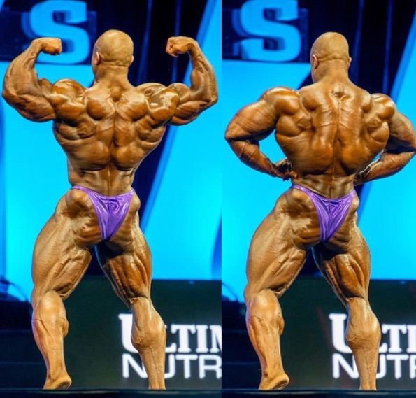 Phil Heath Back Pose