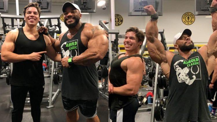 Sergio Olivia Jr and Joseph Baena