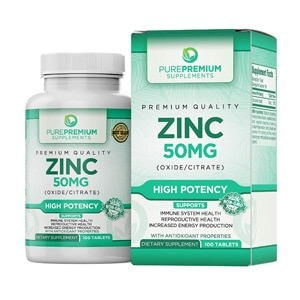 Purepremium Supplements Zinc