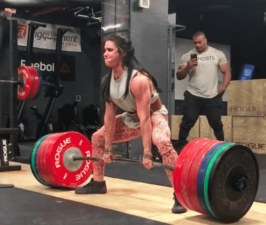 Stefi Cohen Deadlifts