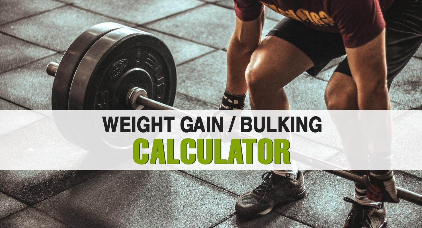 Weight Gain Calculator The Bulking Calculator Fitness Volt