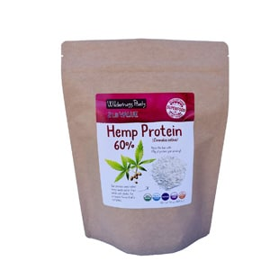 Wilderness Poets Cold Pressed Organic Hemp Protein