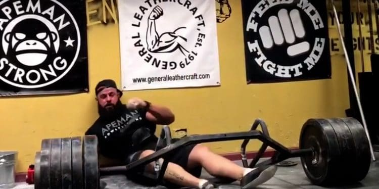 Cause Lifters Pass Out After Heavy Deadlifts