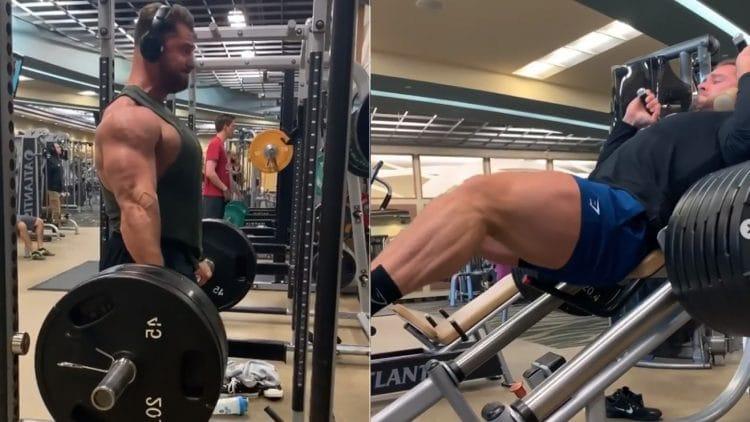 Chris Bumstead Leg Workout