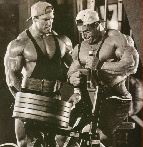Dorian Yates Working Out