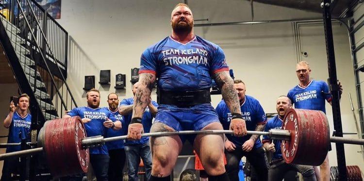 Hafthor Bjornsson To Break World Record