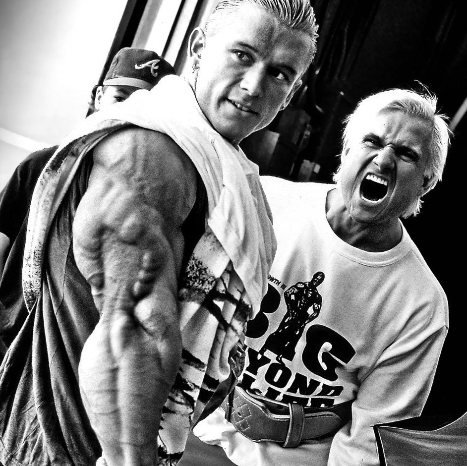 Lee Priest Triceps