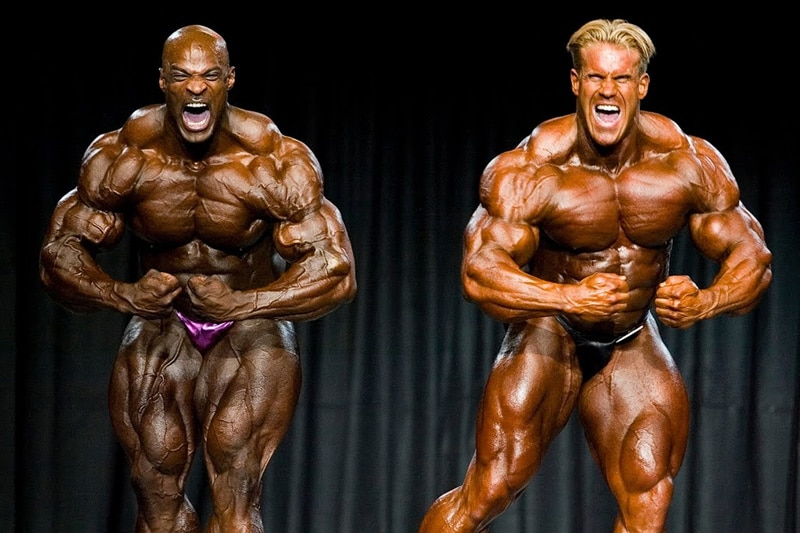 Ronnie Coleman And Jay Cutler