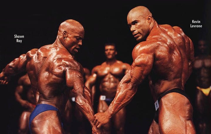 Shawn Ray and Kevin Levrone
