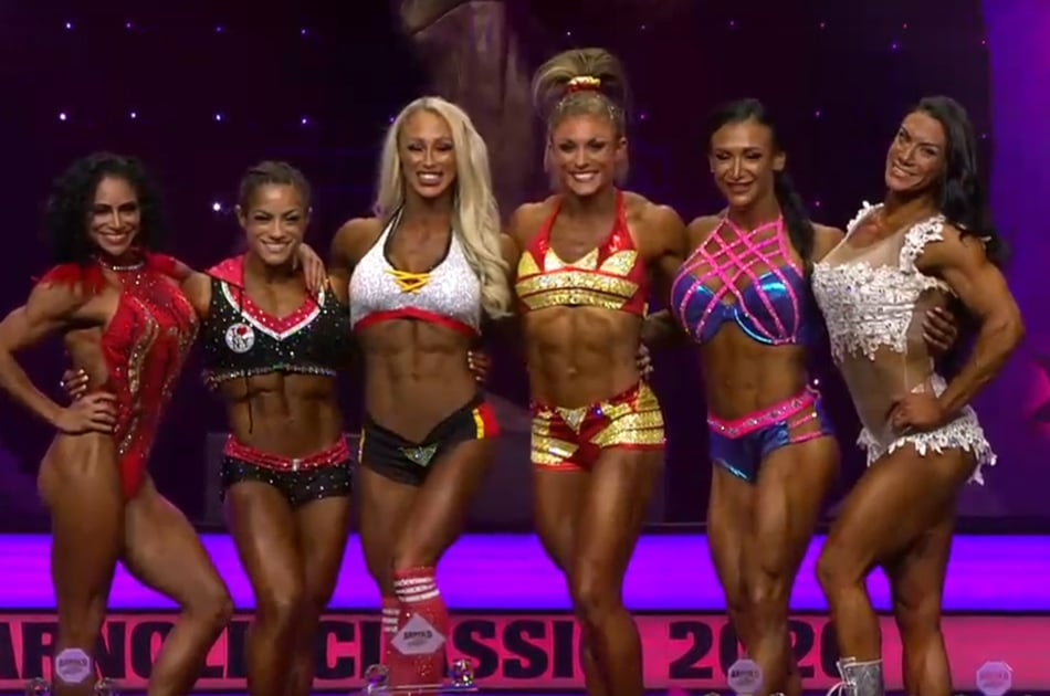 Arnold Classic 2020 Fitness International Top 6
