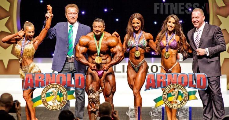 Arnold Classic Australia And Brasil Postponed