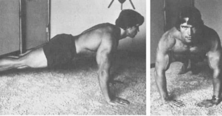 Arnold Schwarzenegger at How Workout