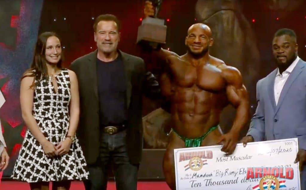 Big Ramy Won Most Muscular