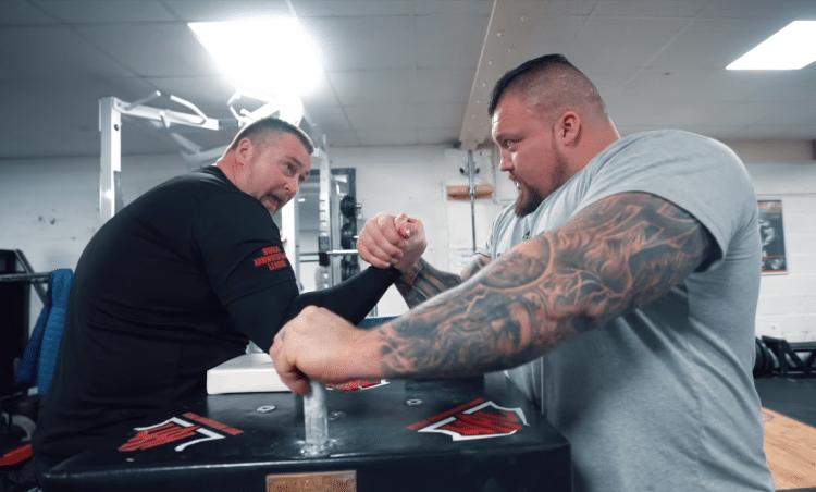 Eddie Hall Arm Wrestle