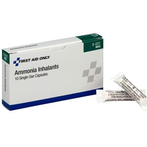 First Aid Only Ammonia Inhalants