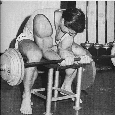 Larry Scott Wrist Curls