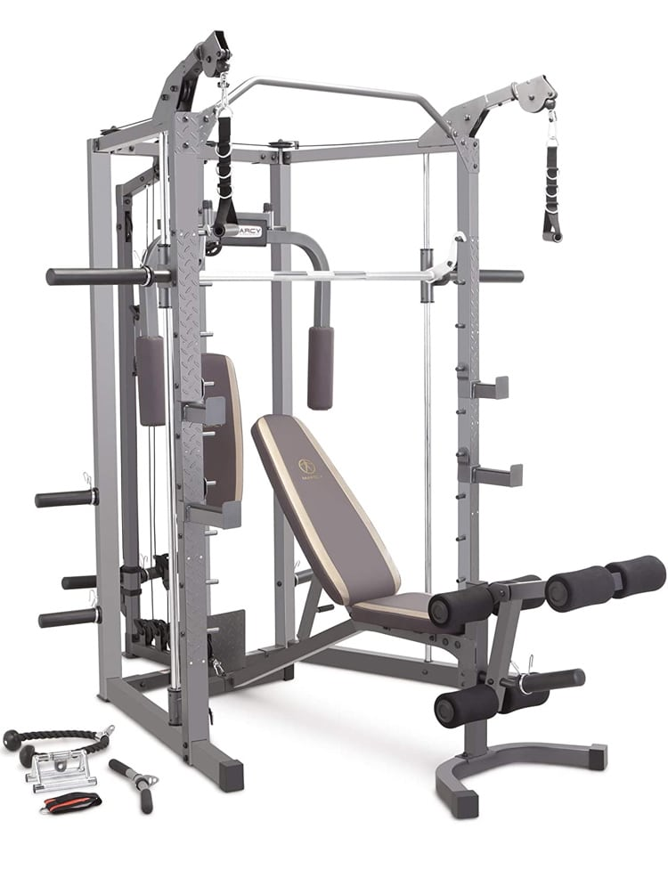 Marcy Sm 4008 Combo Smith Machine Home Gym 1
