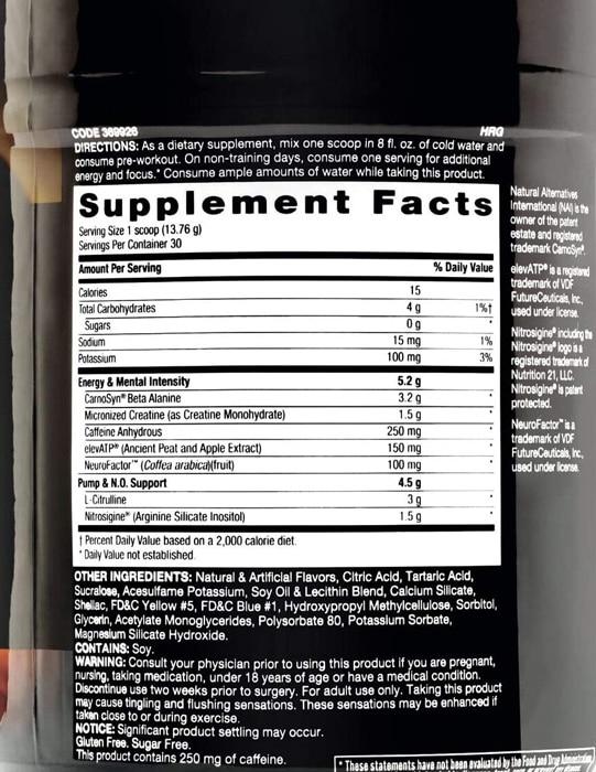 Beyond Raw LIT Ingredients
