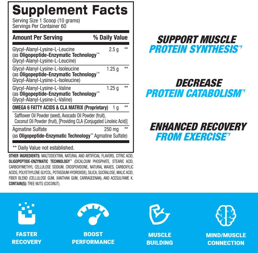 Bpi Sports BCAA Ingredients