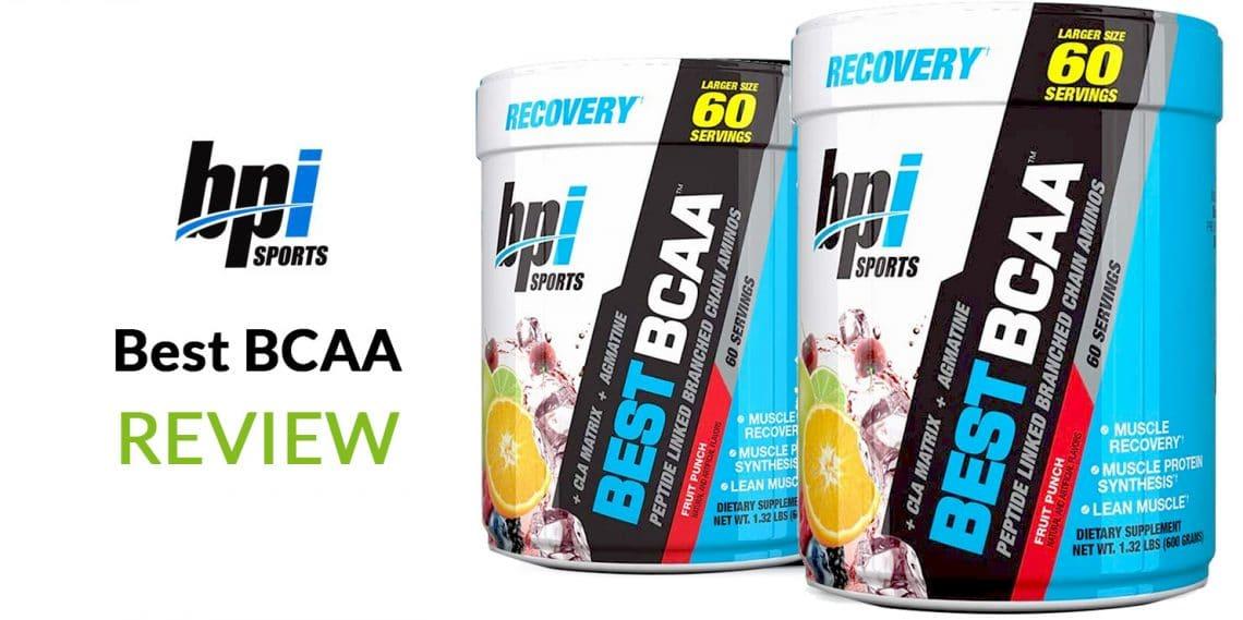 BPI Sports BCAA Review