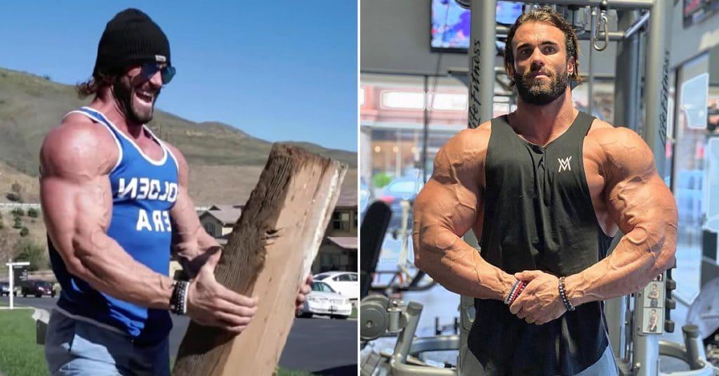 Calum Von Moger Shows Off Crazy Home Workout Routine For Shoulders Fitness Volt