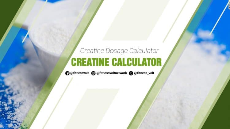 Creatine Calculator