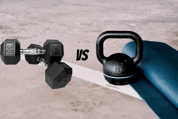 Dumbbells vs. Kettlebells