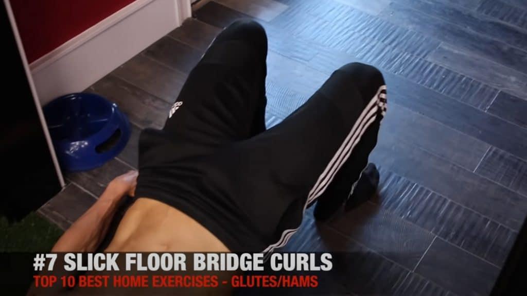 Floor Bridge Curls