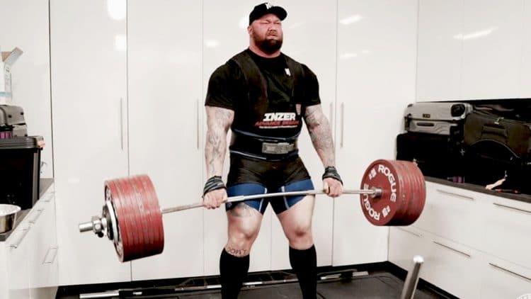 Hafthor Bjornsson 501kg
