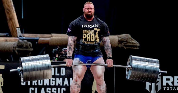 Hafthor Bjornsson 520kg Deadlift