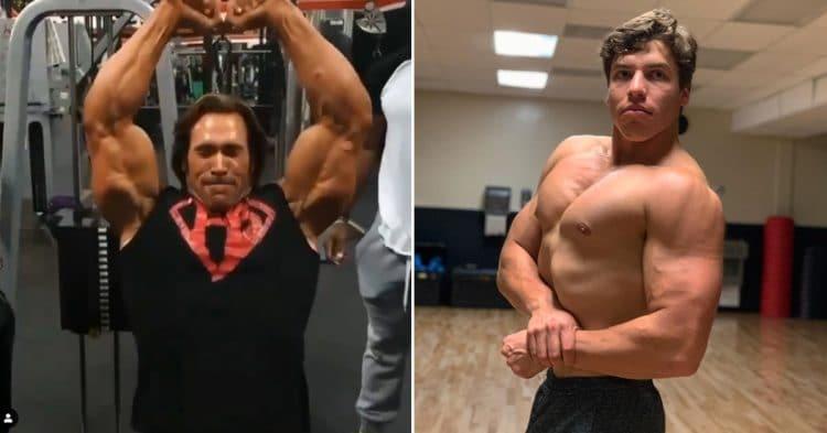 Joseph Baena Workout With Mike O'Hearn